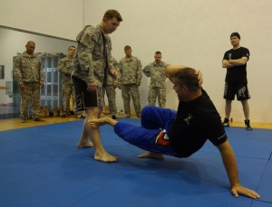 """Teaching the United States Army Jiu-Jitsu techniques was amazing!"" -Jeff Correia"